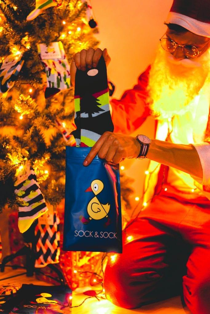 kerstgeschenk socksock