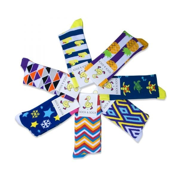 Sock & Sock 7 pack waaier